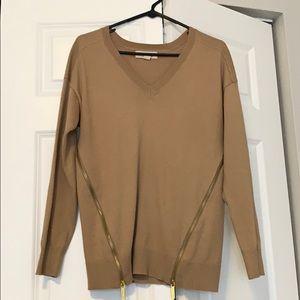 Michael Kors Sweater with Gold Zipper